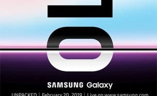Samsung Galaxy S10 Release Date Officially Reveals