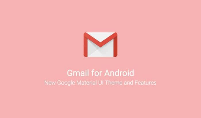 Download Gmail for Android v9.1 APK with new Material UI Theme