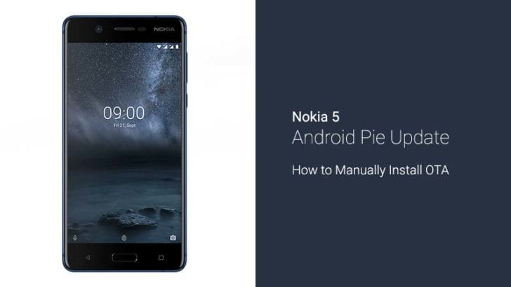 How to Install Nokia 5 Android Pie Update OTA