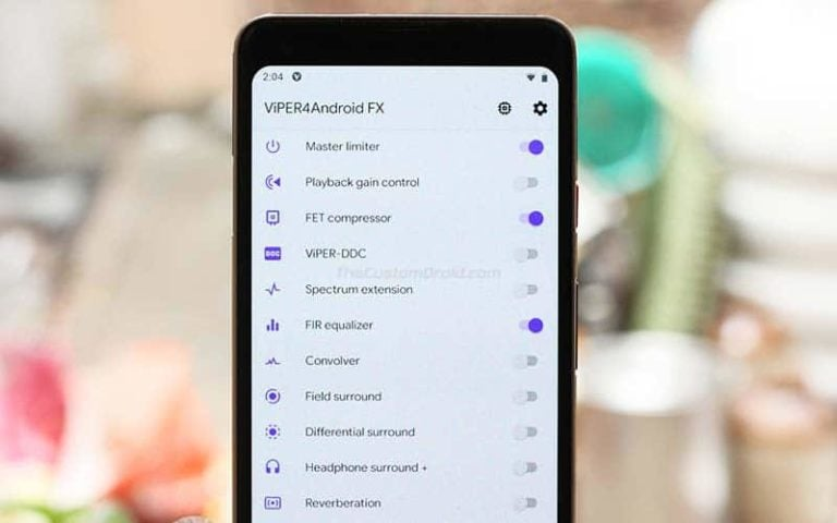How to Install ViPER4Android v2.7.0.0 on Android Devices running Android Pie, Oreo, Nougat, and Marshmallow