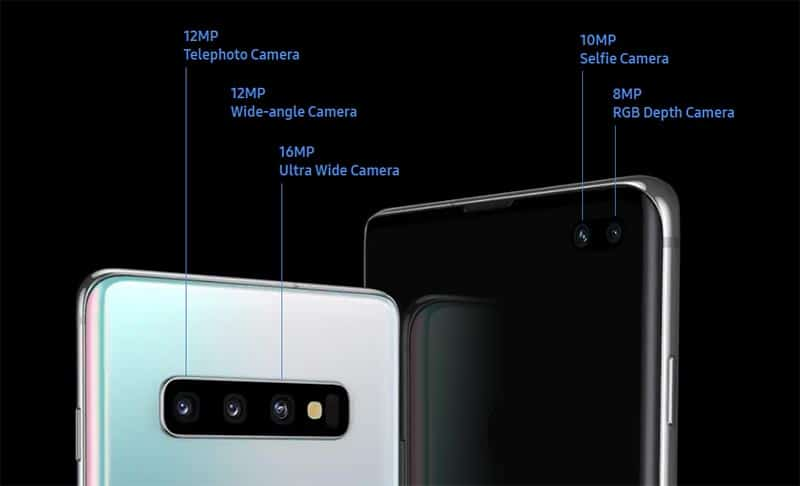 Samsung Galaxy S10 - Camera