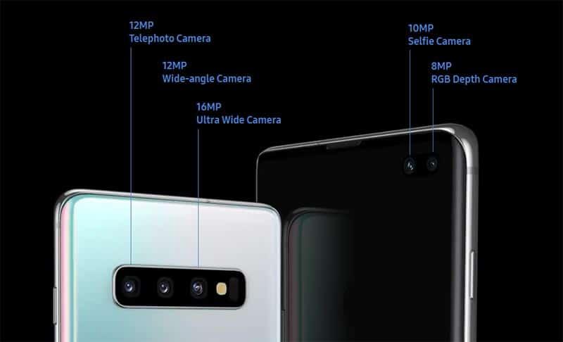 Samsung Galaxy S10 - Камера