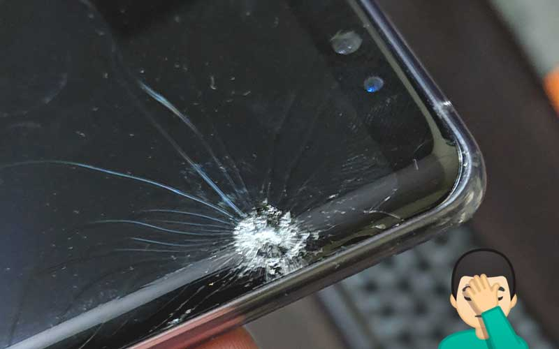 Bought Samsung Galaxy Note 8 and Broke Screen in 24 Hours
