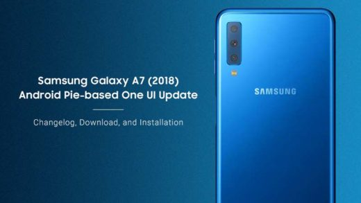 How to Install Samsung Galaxy A7 Android Pie Update (One UI)