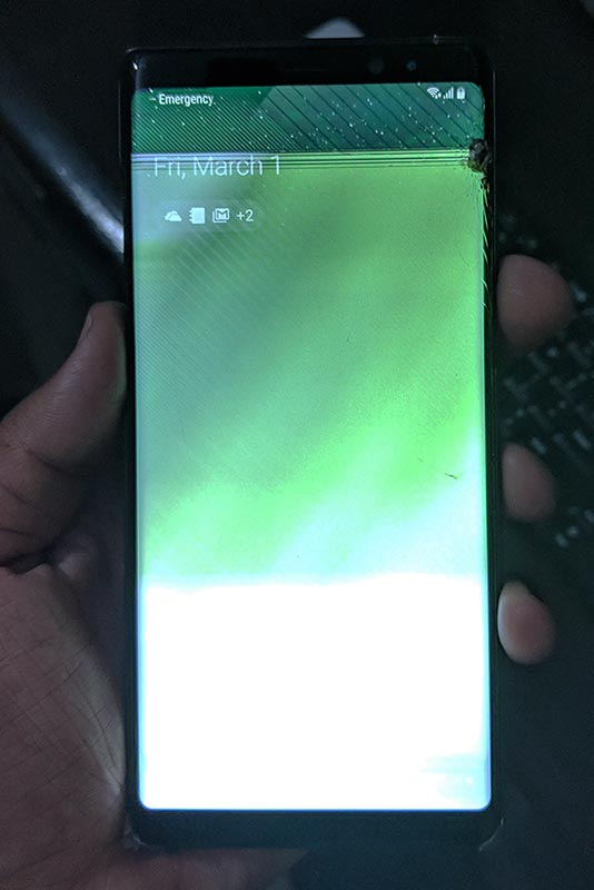 New Samsung Galaxy Note 8 Broken Display/Screen - 03