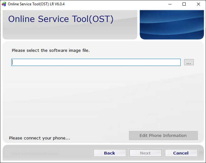 Flash Stock Firmware using Nokia Online Service Tool