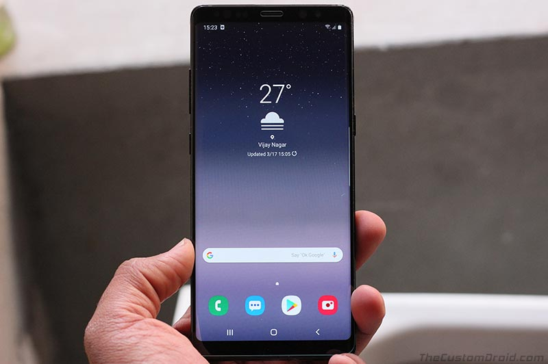 Samsung Galaxy Note 8 with One UI