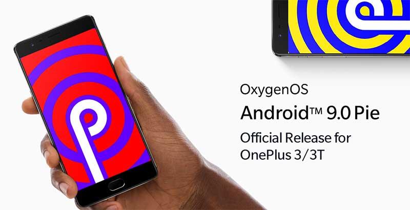 Загрузить обновление OnePlus 3 / 3T Android Pie (OxygenOS 9)