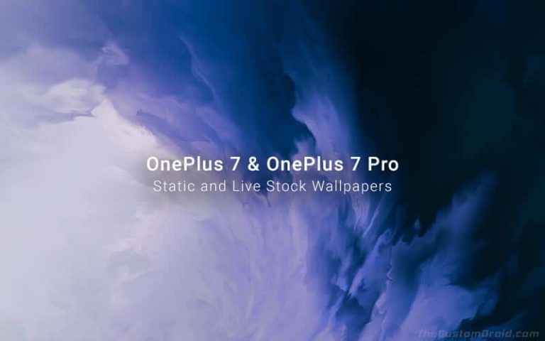 Download OnePlus 7 Pro Stock Wallpapers (Static and Live Wallpapers)