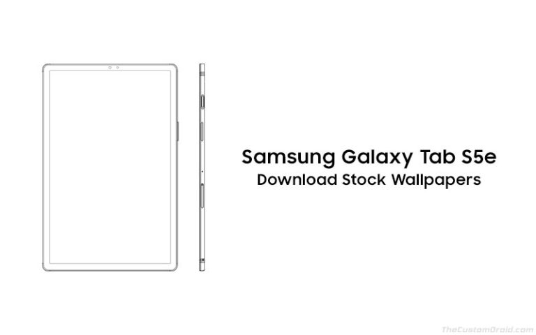 Download Samsung Galaxy Tab S5e Stock Wallpapers