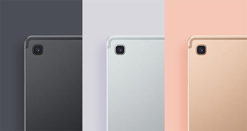Samsung Galaxy Tab S5e comes in three monochromatic colors - Gold, Silver, and Black
