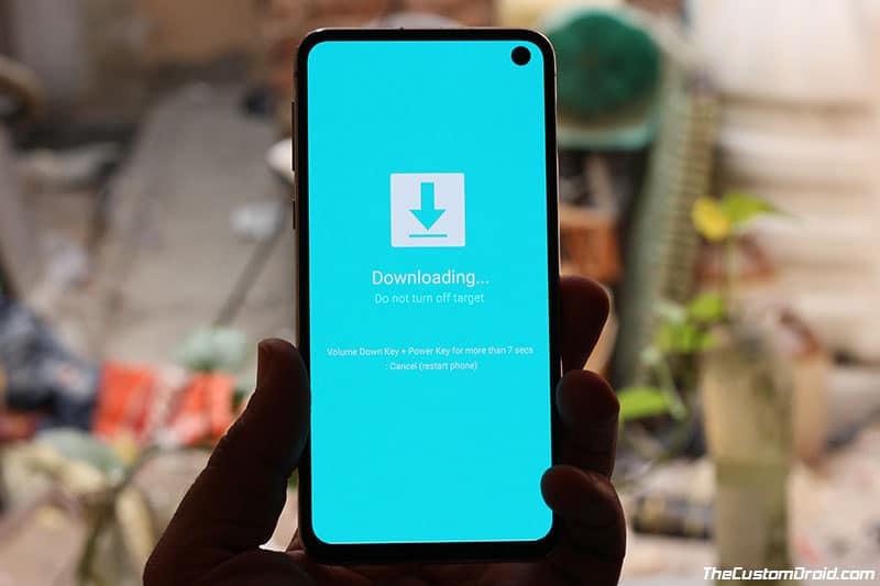Boot Samsung Galaxy S10/S10+/S10e into Download Mode