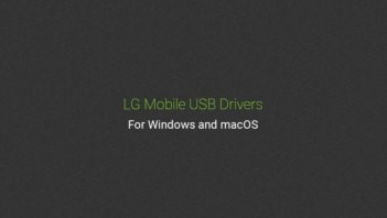 Download LG USB Driver for Mobile Phones