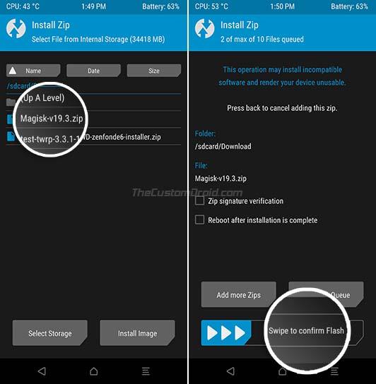 Flash Magisk to Asus Zenfone 6 (ZS630KL)