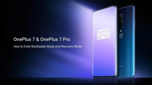 How to Boot OnePlus 7/OnePlus 7 Pro into Bootloader Mode and Recovery Mode