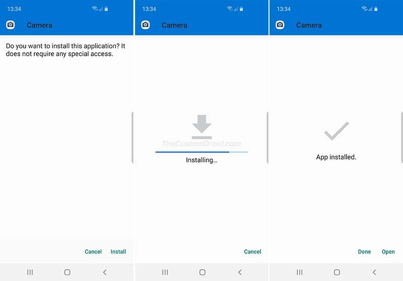 Install Google Camera Port on Samsung Galaxy S10/S10+/S10e