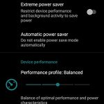 Battery Saver and Performance Settings in LineageOS 16