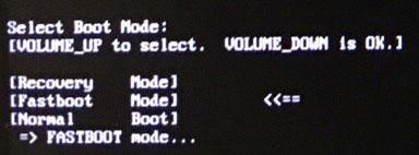 Unlock realme 3 Pro Bootloader - Fastboot Mode