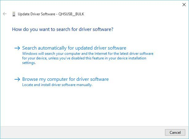 Install Qualcomm HS-USB QDLoader 9008 Drivers - Manual Method - Update Driver Software