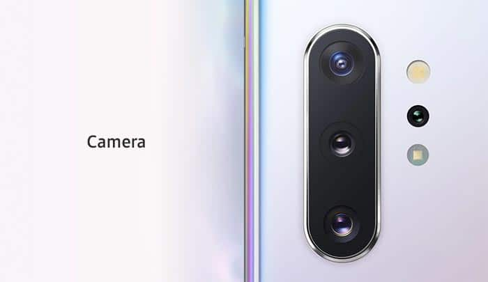 Samsung Galaxy Note10 - Cameras