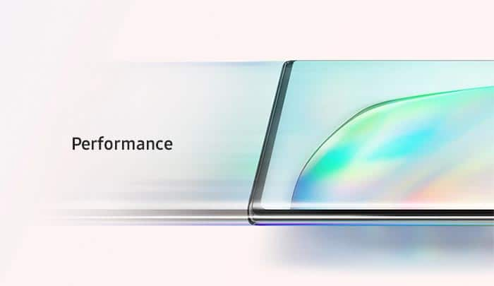 Samsung Galaxy Note10 - Performance