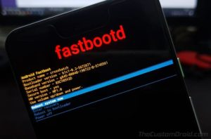 Google Pixel Android 10 Q fastbootd - Dedicated Fastboot Mode