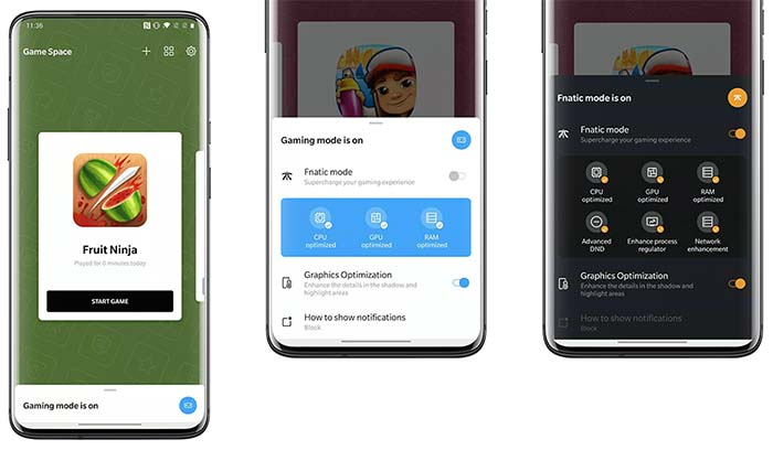 OnePlus 7/7 Pro OxygenOS 10 Feature - Dedicated Game Space in Settings