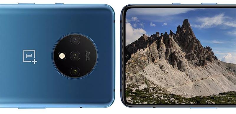 OnePlus 7T - передняя и задняя камера