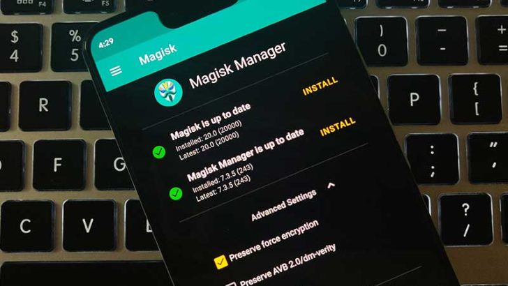 Download Latest Magisk 20.0 Stable and Magisk Manager 7.3.5 APK