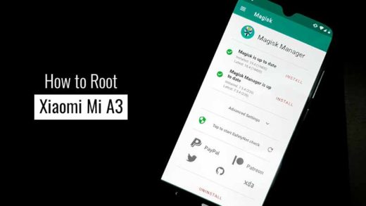 How to Root Xiaomi Mi A3