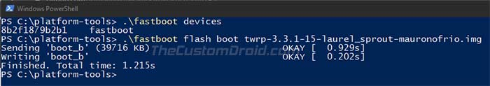 Install TWRP Recovery on Xiaomi Mi A3 - Flash TWRP Recovery Image