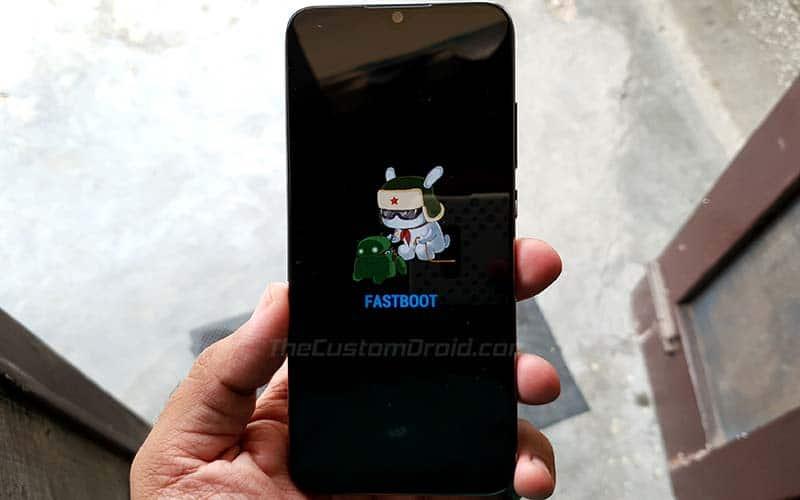 Unlock Xiaomi Mi A3 Bootloader - Enter Fastboot Mode