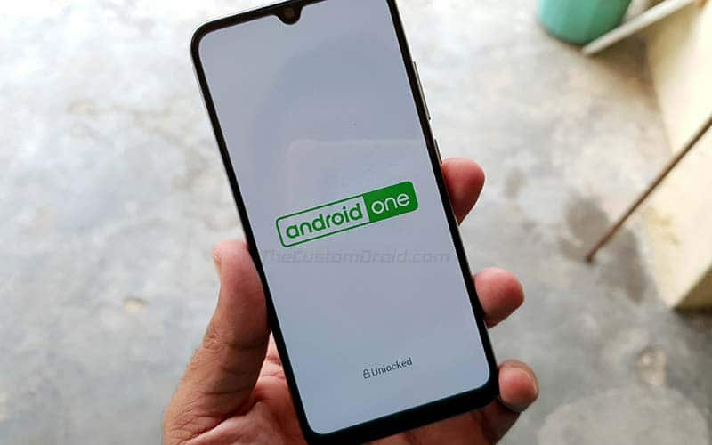 Unlocked Bootloader on Xiaomi Mi A3 - Spashscreen (Android One and Unlocked)
