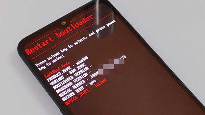 Boot Nokia 7.2/Nokia 6.2 into Fastboot Mode