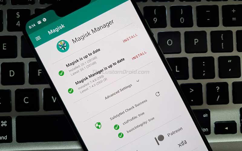 Download Magisk 20.1 Zip and Magisk Manager 7.4.0 APK