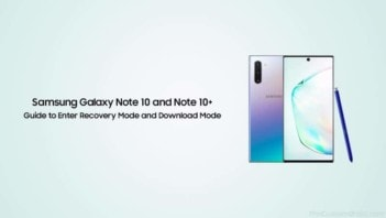 How to Boot Samsung Galaxy Note 10/Note 10+ into Recovery and Download Mode