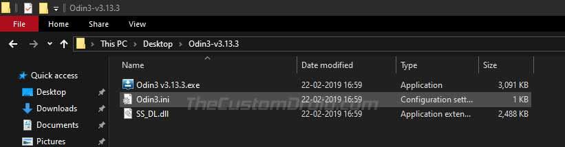 Запустите Odin Tool для установки обновления Galaxy Note 10/10 + Android 10 (One UI 2.0).