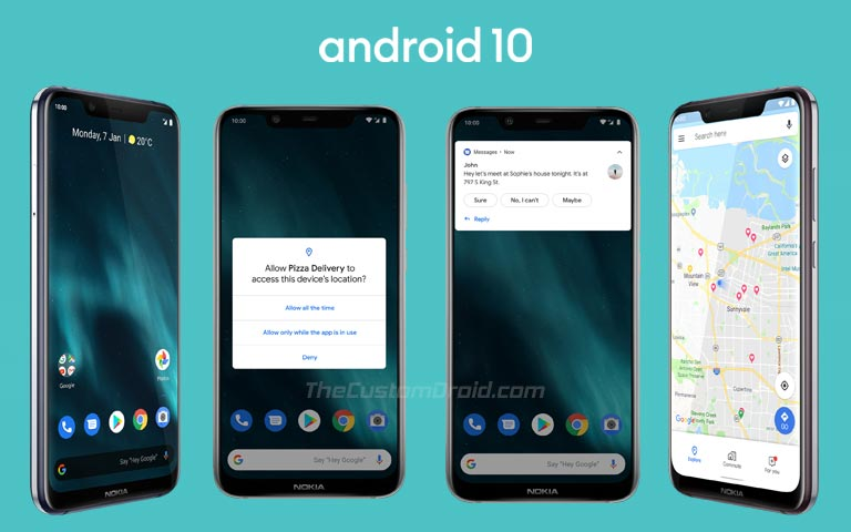 Android 10 on Nokia 6.1 Plus - New Features