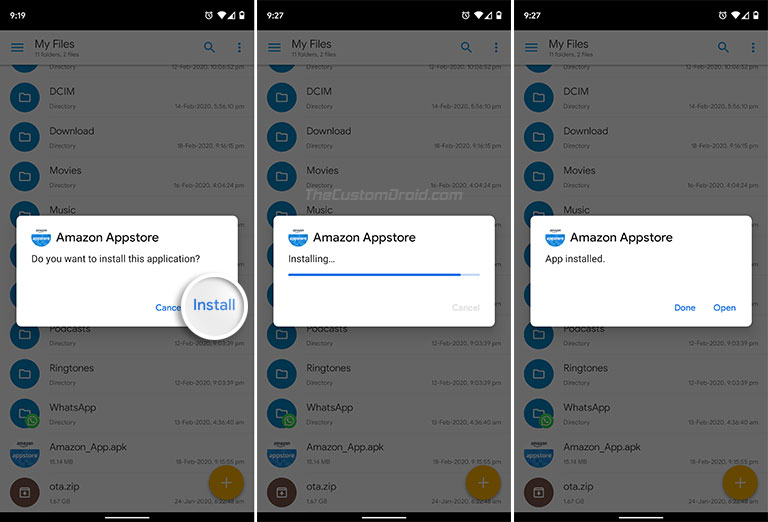 How to Install APK on Android - Select 'Install' to begin installation