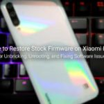 Download and Install Xiaomi Mi A3 Stock Firmware