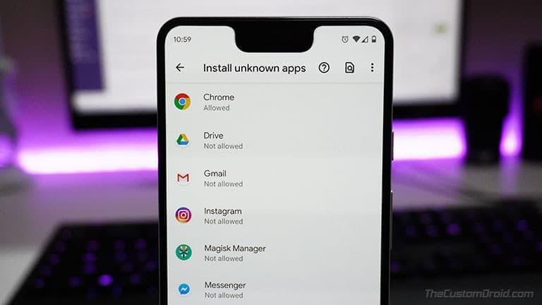 How to Sideload or Manually Install Android APK Files