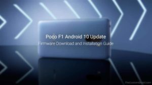 Download and Install Poco F1 Android 10 Update