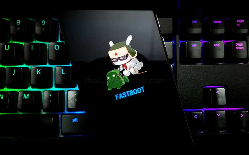 How to Boot Poco X2 into Fastboot Mode