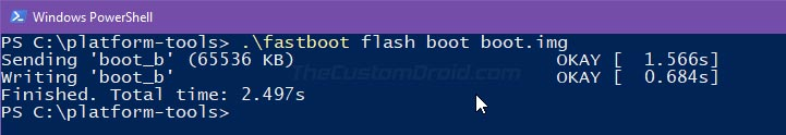 Flash Stock Boot Image to Unroot Asus ROG Phone 2