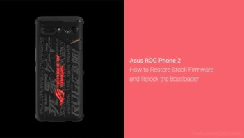 Download and Install Stock Firmware on Asus ROG Phone 2