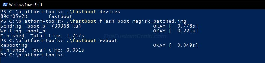 Flash Patched Boot Image to Root ROG Phone 2 via Magisk