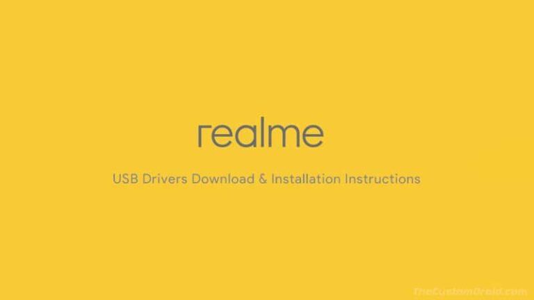 Download Latest Oppo Realme USB Drivers for all Realme Smartphones