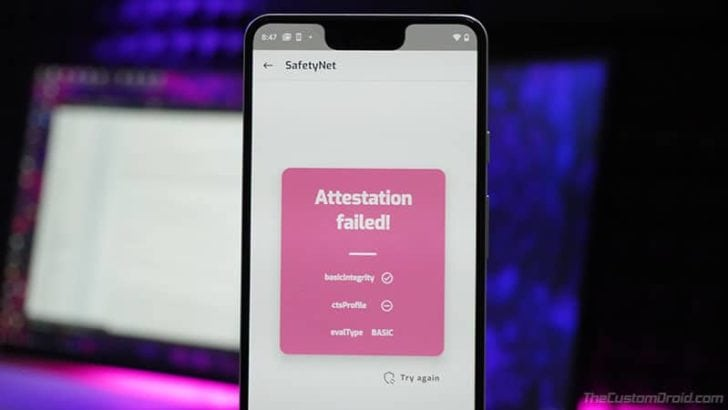 SafetyNet's Hardware-backed Attestation on Android