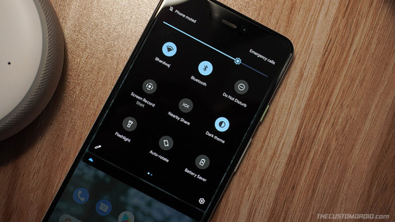 How to Enable 3-Row/9-Tile Quick Settings in Android 11