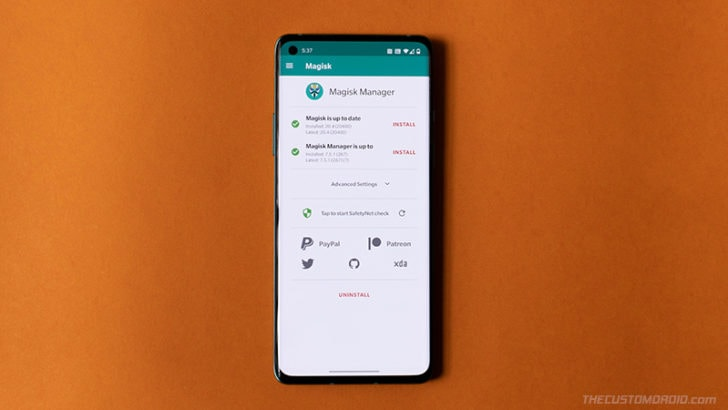 How to Root OnePlus 8/8 Pro using Magisk (without TWRP) & Install OTA Updates after Rooting